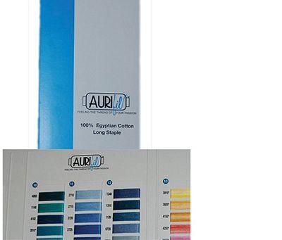 aurifil cotton color chart 252 colors - Aurifil Thread Color Chart