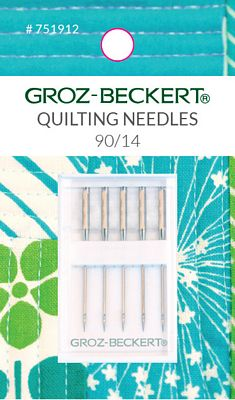 Needle Groz-Beckert Carded 90/14 Quilting