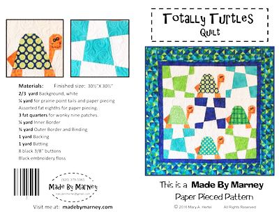 Brewer Sewing - Totally Turtles Quilt : brewer sewing and quilting - Adamdwight.com