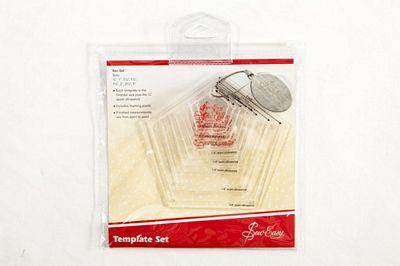 brewer sewing pentagon template set